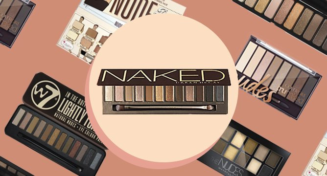 Dupes for Urban Decay's Naked Palette