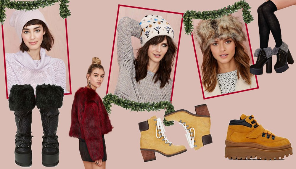 How To: Stay Chic in Cold Weather with Nasty Gal
