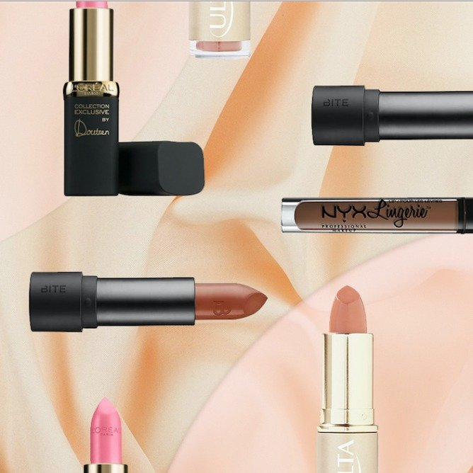 5 Brands With A Huge Nude Lipstick Selection
