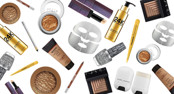 Bronze, Silver, and Gold Beauty Products for Olympics Season