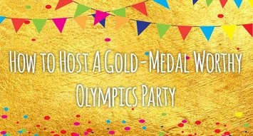 How to Host A Gold Medal-Worthy Olympics Watch Party