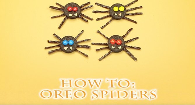 How to Make Oreo Spiders For Your Next Halloween Party