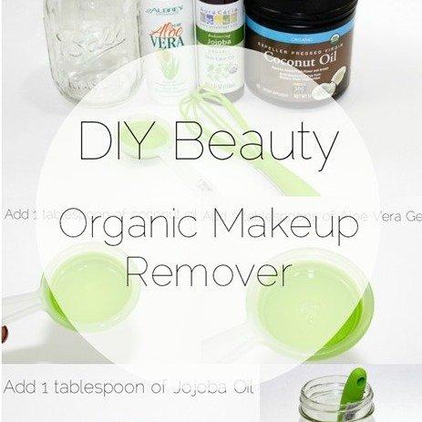 DIY: Organic Makeup Remover