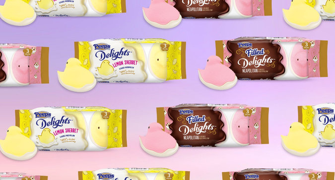 Meet the Newest Peeps Flavors for Spring
