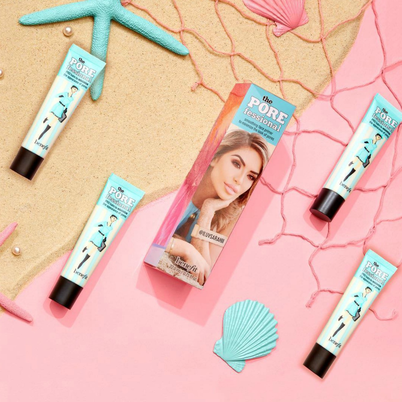 Benefit Cosmetics Launches a Desert-Island Kit