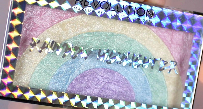 Makeup Revolution's Rainbow Highlighter is Next Level