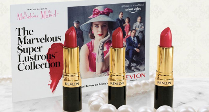 Revlon Dropped a Marvelous Mrs. Maisel Collection—And You Need to See It