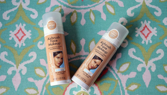 INCOMING! Sally Hansen Airbrush Face Makeup