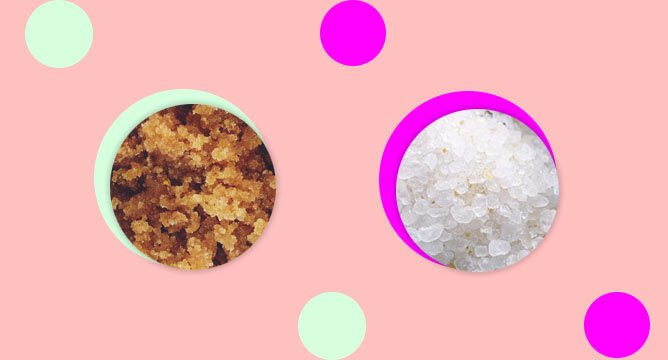 Beauty 101: Sugar vs. Salt Scrub