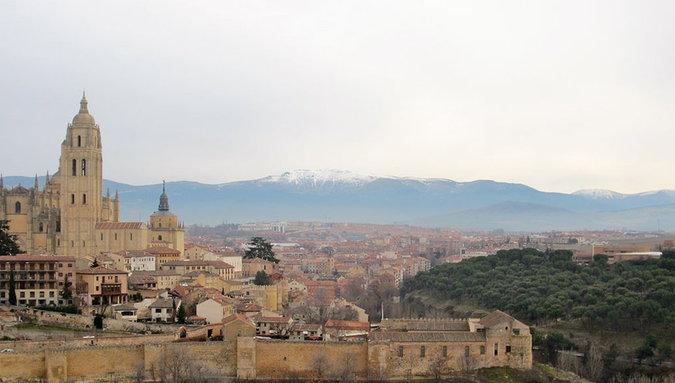 POTD: Serene in Segovia