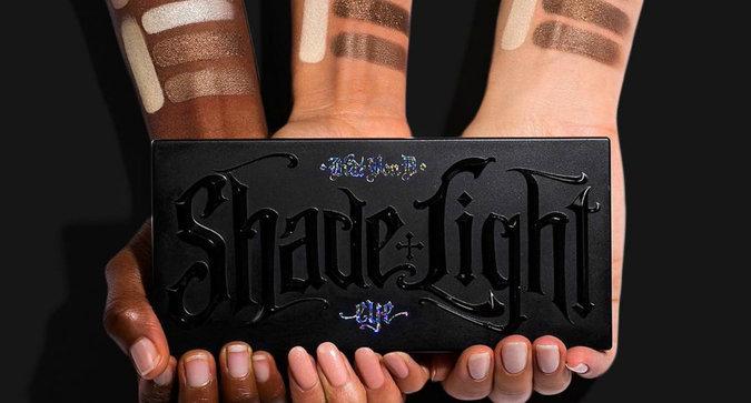 KVD's Shade + Light Glimmer Eye Contour Palette is Here
