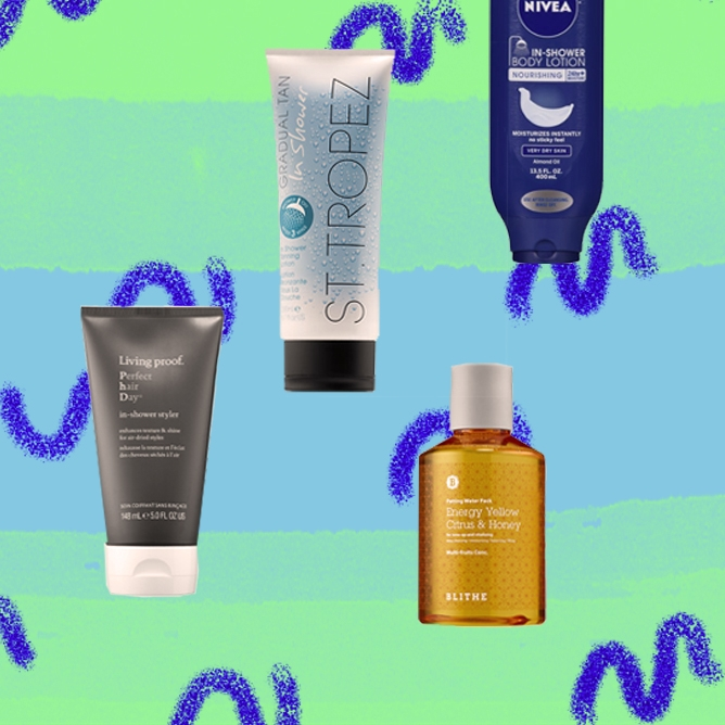 In-Shower Beauty Products to Save You All The Time
