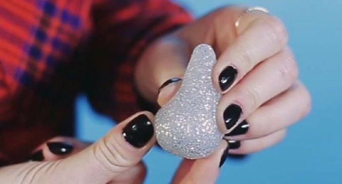 This Sparkly Makeup Sponge is Vanity Candy