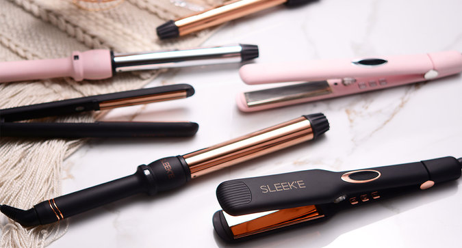 Save 50% on Sleek'E Hair Products!