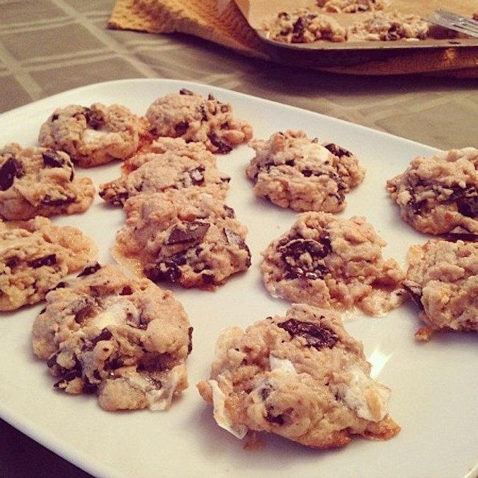 Treat Yourself: Gooey S'mores Cookies