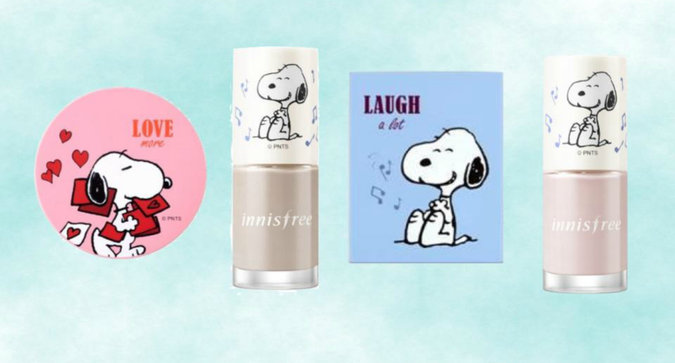 Snoopy x Innisfree is the Cutest K-Beauty Collab You'll See All Day
