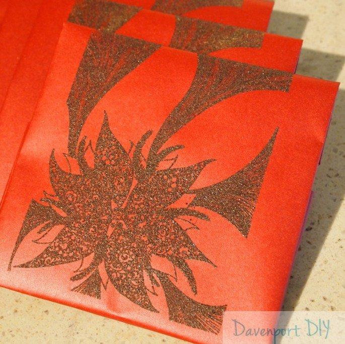 DIY: Embossed Paper CD Case