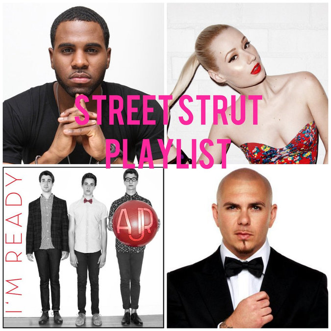 Influenster Playlist: Street Strut
