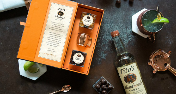 Sugarfina x Tito's is Just the Candy Collab We Need for Winter