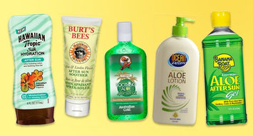Products to Help Soothe a Sunburn