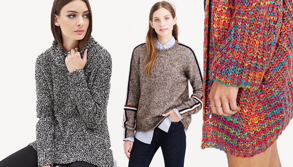 6 Stores that Sell Super Comfy Sweaters