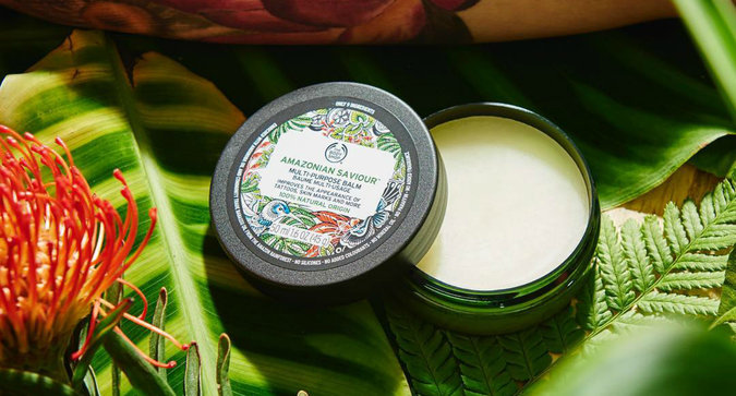 The Body Shop Just Made a Balm for Tattoos