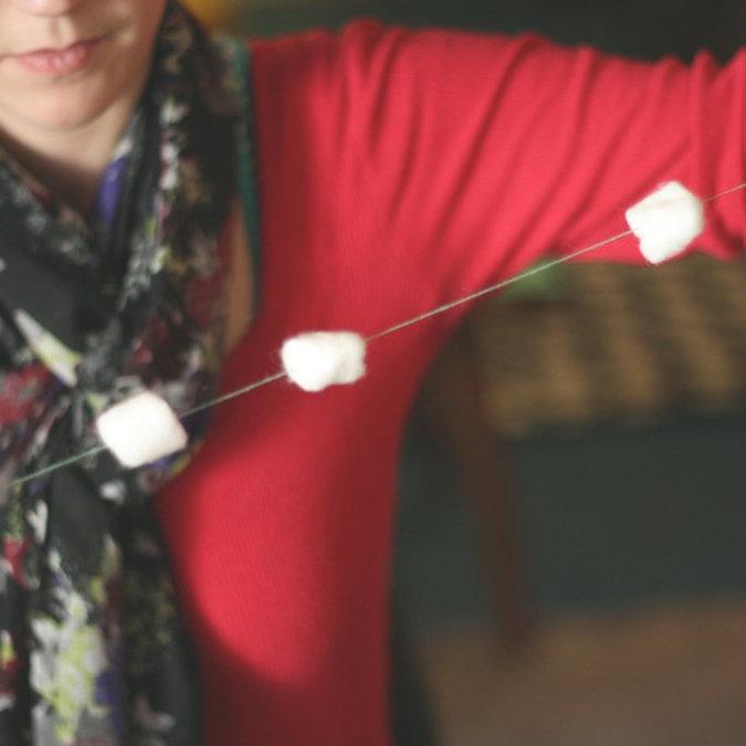 DIY Snowball Decor