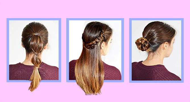 5 Foolproof Hairstyles for Beginners