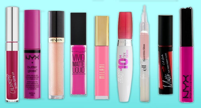 The Top 10 Lip Glosses on Influenster