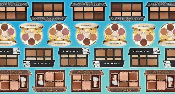 Influenster's Most Popular Contouring Palettes