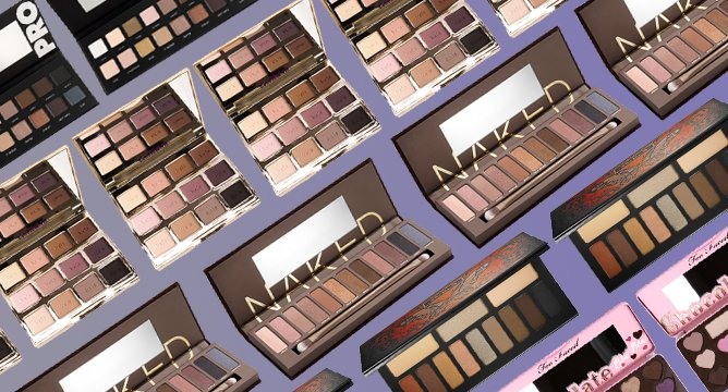 The Most Popular Eyeshadow Palettes on Influenster