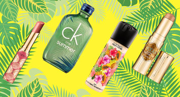 Trending For Your Vanity: Tropical Packaging