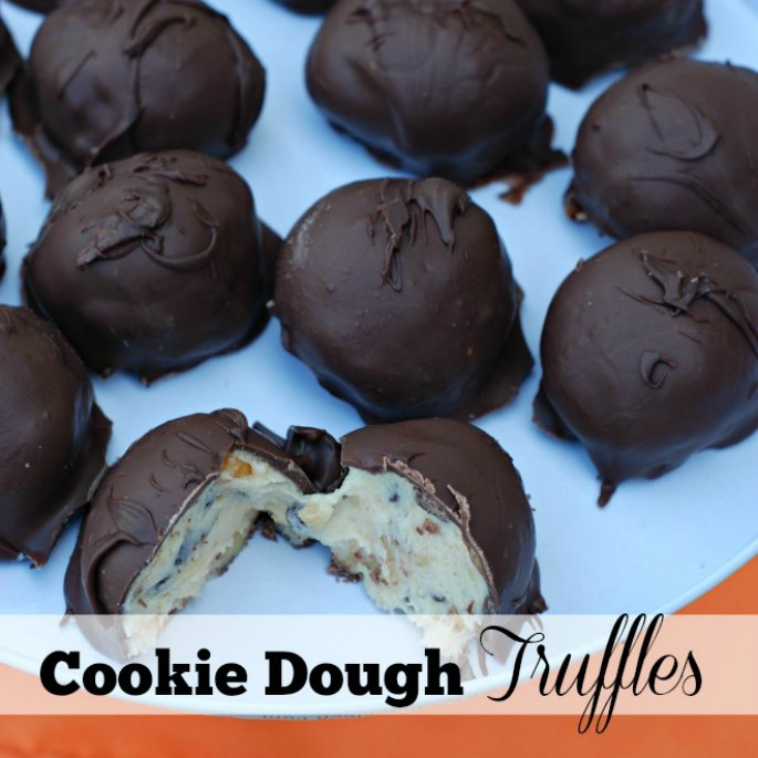 Treat Yourself: Cookie Dough Truffles