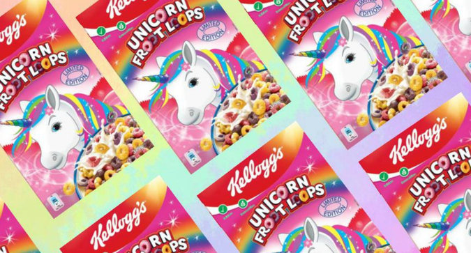 FYI Unicorn Cereal is Coming