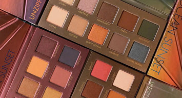 An Upclose Look at LORAC's  Unzipped Sunset Palettes