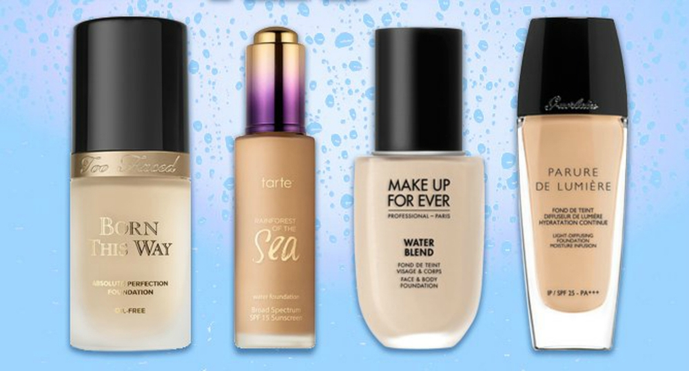 Trend to Try: Water-Based Foundation