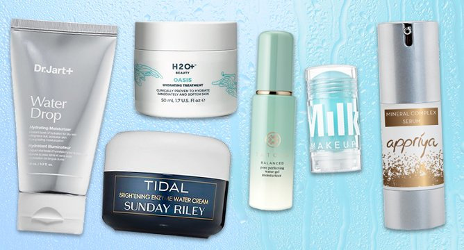 Summertime Trend: H2O-Infused Beauty Products