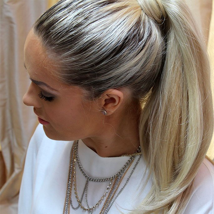 Fall Hair: The Wrapped Pony