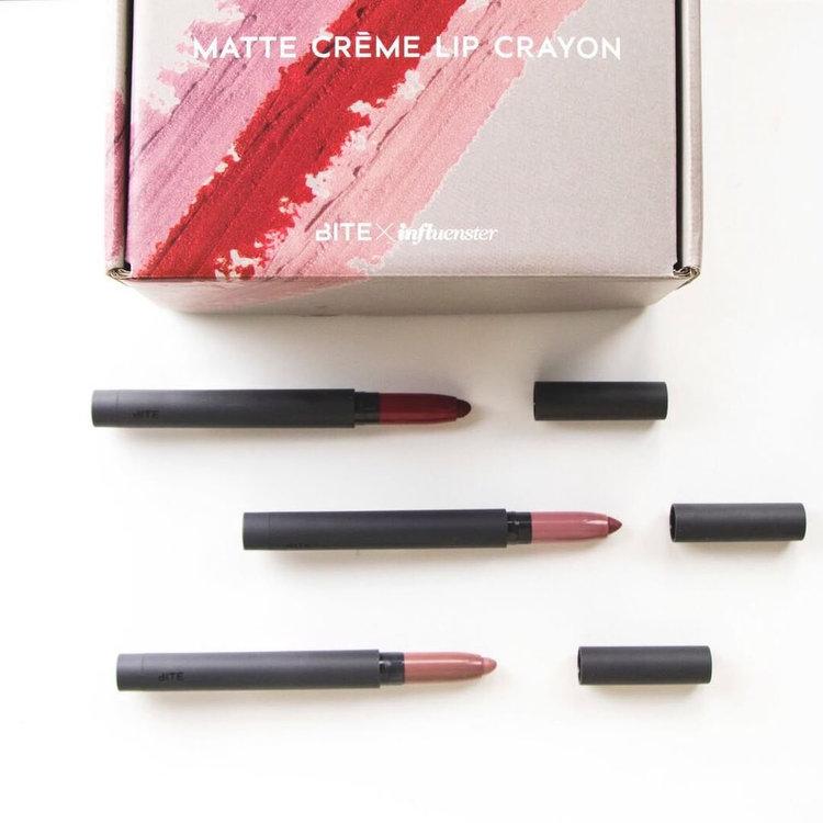Slide: Bite Beauty Matte Crème Lip Crayon