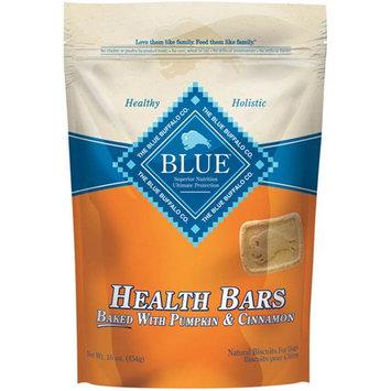 Slide: Blue Buffalo Health Bar Dog Treat Pumpkin/Cinnamon