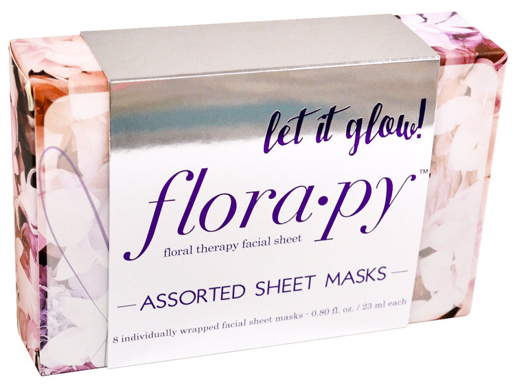 Slide: Florapy Floral Therapy Sheet Mask Collection