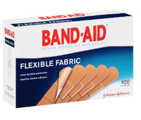 Band-Aid® Brand Adhesive Bandages Flexible Fabric Band Aids 100 ct. Box