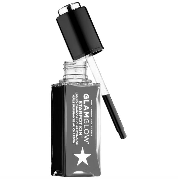 Slide: GLAMGLOW® Starpotion™ Liquid Charcoal Clarifying Oil