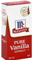 McCormick Pure Vanilla Extract with No Corn Syrup Added