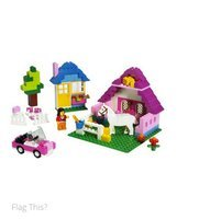 LEGO Bricks & More Pink Brick Box Large 5560