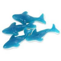Blue Gummy Sharks Candy