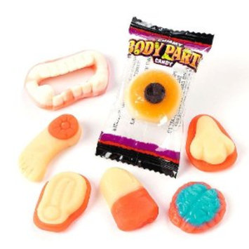 Slide: Frankford Candy & Chocolate Gummy Body Parts