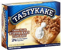 Tastykake® Cream Filled Koffee Kake Cupcakes uploaded by Nathalie D.