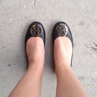 Photo of Tory Burch Flat Shoes uploaded by Kellen P.