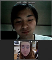 Skype  uploaded by Caitlin S.